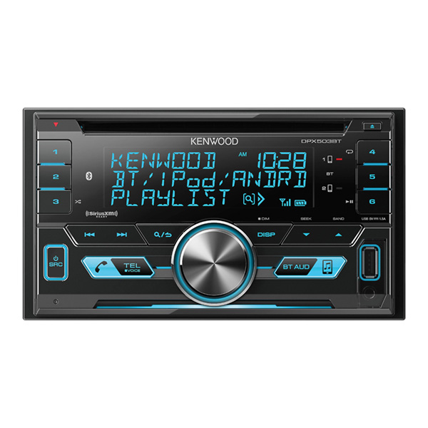 Dpx503bt Double Din Bluetooth Receiver Detail Page